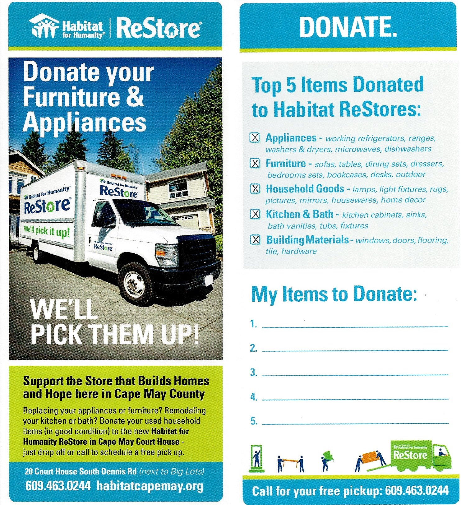 Habitat For Humanity ReStore – Donate Furniture ...