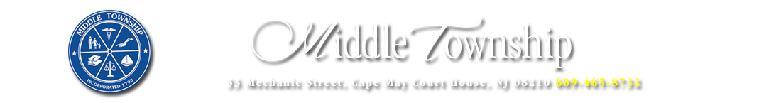 Middle Township, New Jersey Logo
