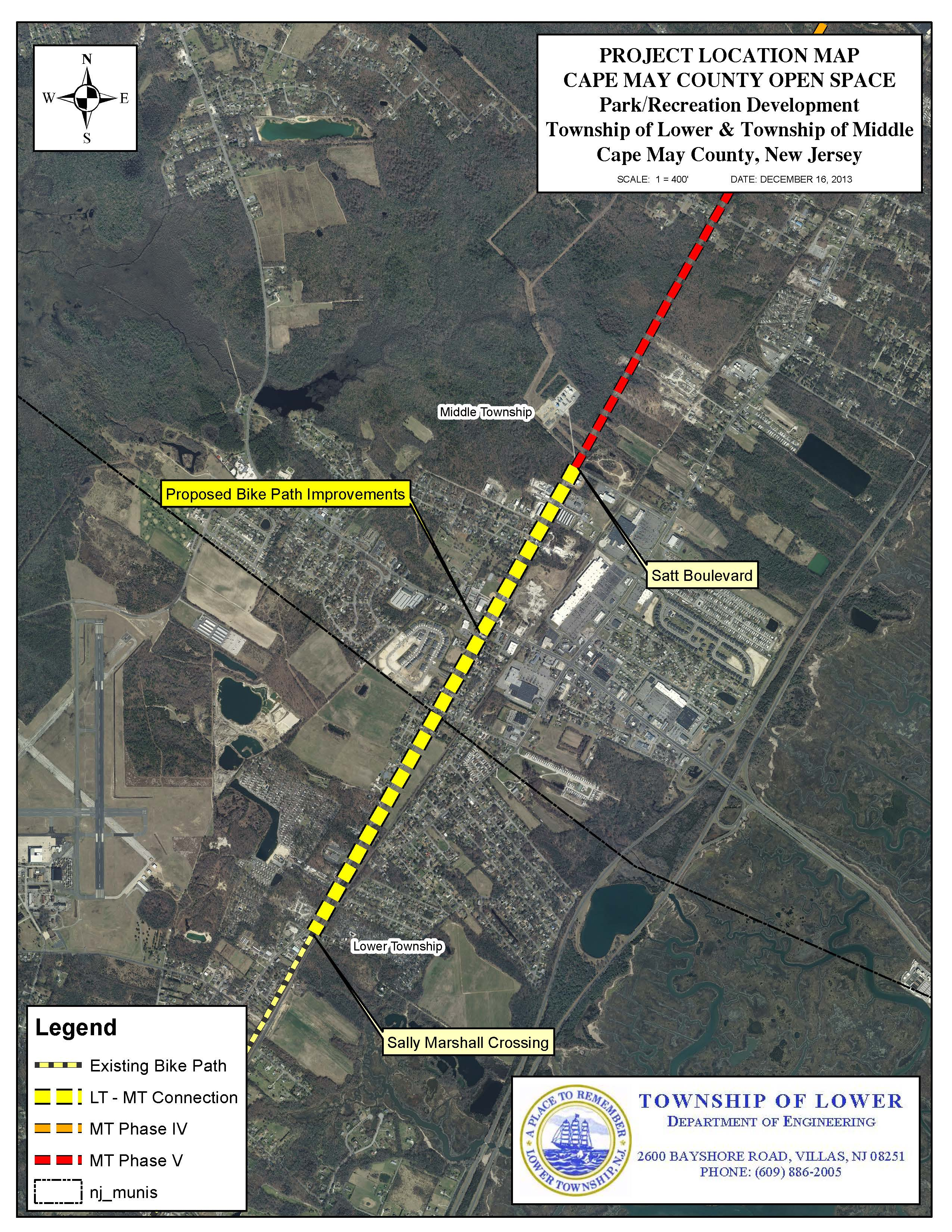 open space board recommends middle  lower twp  bike path  u2013 middle township  new jersey