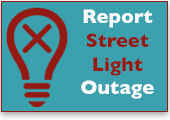 MIddle Township Report Street Light OUtage